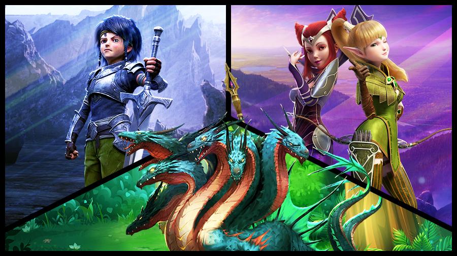 Играть онлайн в Гнездо Драконов: Альянс